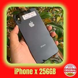 SECOND IPHONE X 256 GB EKS INTER - FULLSET