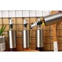 O724 Botol Minyak Botol Kecap botol cuka dengan Pourer dan Tutup 350ml