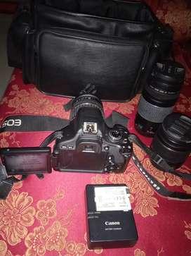 Dijual kamera canon eos kis x5