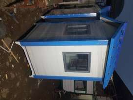 Guard room prefabricated insulated 4'x4'