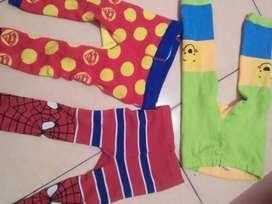 Dijual 3 pcs celana panjang anak cowo uk 1-2thn
