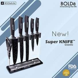 Super KNIVES GRANITO 7pcs set Italian Design Original BOLDe