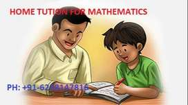 X, XI,XII Home Tution Available for Mathematics