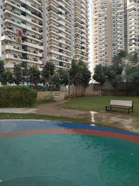 2 BHK semi furnished flat on rent in ace city .