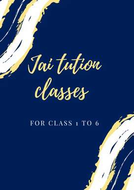 Tution Classes for 1 to 7 class