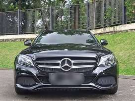 MERCEDES BENZ C200 AVG 2017 AT HITAM
