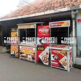 Booth Portable # Meja Lipet # jual Makanan&Minuman: ice coffee