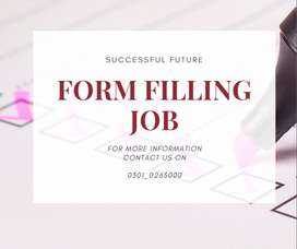 Form Filling Job opportunity to earn at home