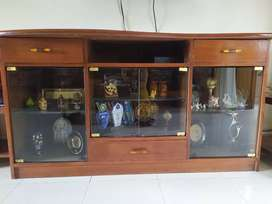 TV unit can be used as crockery unit
