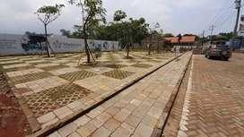 Ruko siap bangun dekat Kawasan Industri Batang.