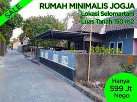 Rumah Minimalis Jogja Selomartani Dekat Candi Prambanan