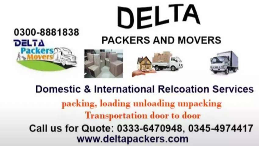 DELTA LOGISTICS HOME RELOCATION ALL OVER PAKISTAN 0