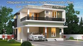 Stylish and Elegant designed villas in Ottapalam Town