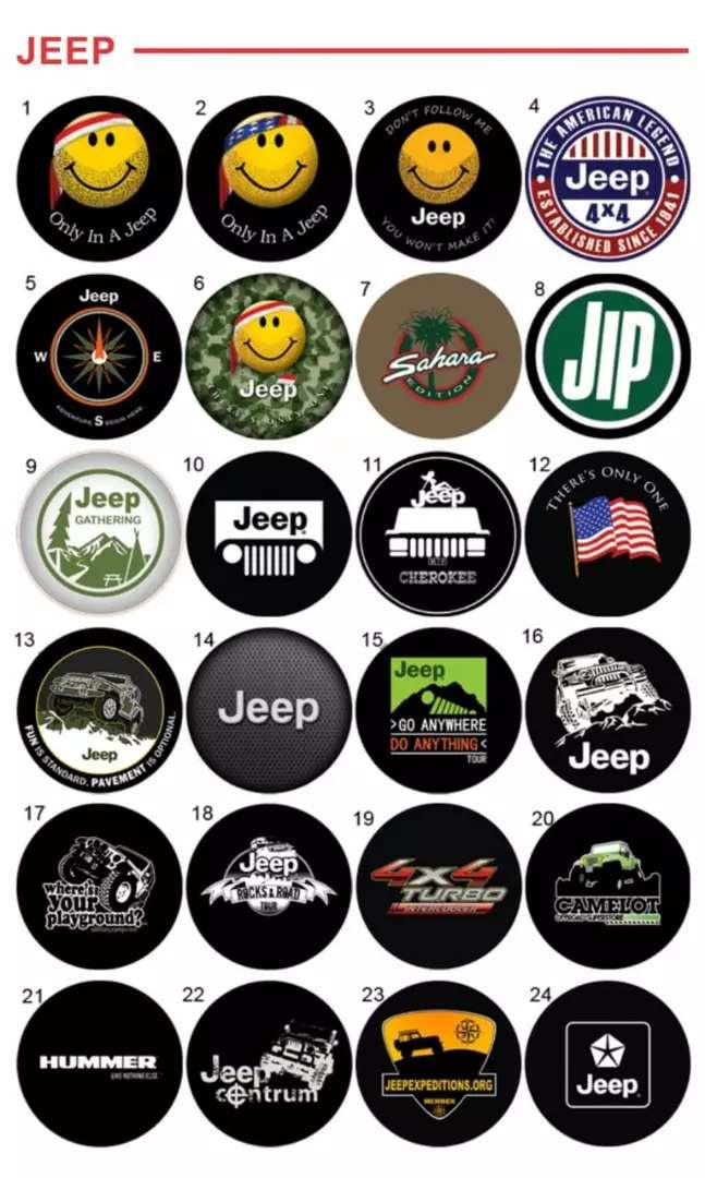 Terios Escudo Cover Ban Serep Rush Sarung Ban Taruna Jeep Rubicon 37a 0