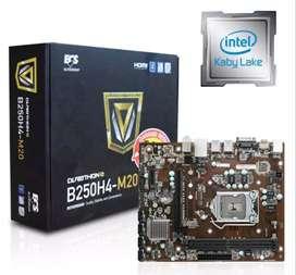 Motherboard Intel ECS B250H4-M20 (LGA1151, B250, DDR4) 1151