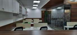 865 Sq Ft office with 2 cabin - 16 seats in I Thum, 62 Noida