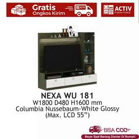 Rak TV / Wall Unit NEXA WU 181 | Baru | COD
