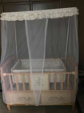 Baby Cot is available for sale.