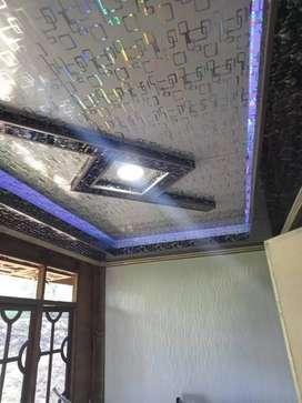 Plafon PVC terpasang murah