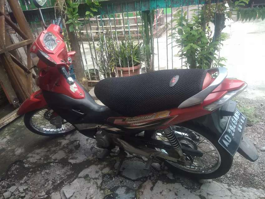 Motor Shogun 125. Merah. 0