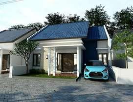 Rumah View Cantik Asri Murah Selomartani 3KT 2KM Muka 7 meter