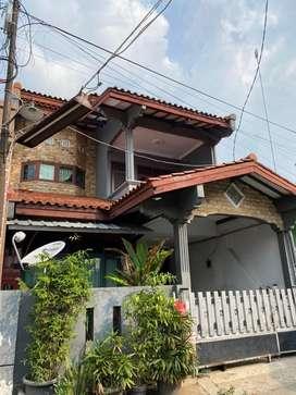 NEGO!!! Jual Rumah 2 lantai murah & bebas banjir di kota bekasi