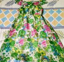Printed frock