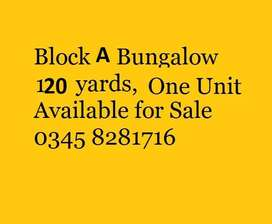 Naya Nazimabad Block A 120 yards West Open house for Sale