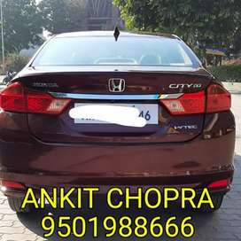 Honda City 1.5 V Automatic Sunroof, 2014, Petrol