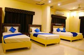 Hotel Days Inn single Room@1999, Double Room@2299, Triple Sharing@2999
