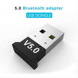 Bluetooth 5.0 PC USB Dongle for mobile, headphones and data transfer