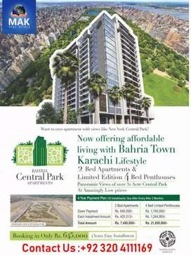 Bahria Central Park Apartment for Sale on Installment