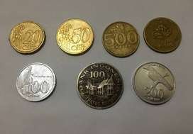 Dijual uang kuno logam