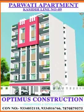 Sale 3 bhk flat 3500000 lakhs only kasidih sakchi road no.9 H.no 256