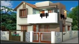 Newly built 3 bed room house at mattumantha, Puthur