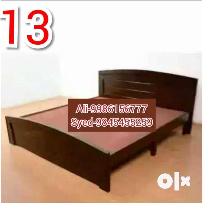 Wooden bed 4/6 mini cot 4250 with box 6500 Matters 3000 0