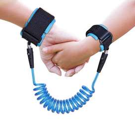 Latest New Child Wrist Reins Baby Wrist Strap For Anti Lost - BLUE