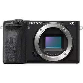 Sony Alpha a6600 Mirrorless (Body Only) Bisa kredit tanpa CC