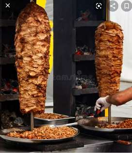 Wanted shawarma chef