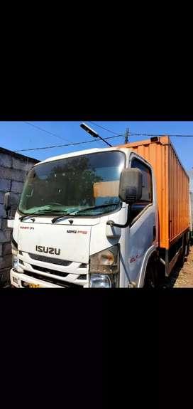 Isuzu ELF NMR71HD Ps125HD 2017 boxbesi OrsTurbo/Mitsubishi Colt diesel