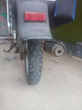 My new splnder plas bike with self