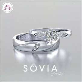 Menjual cincin nikah unik custom sesuai kemauan kamu