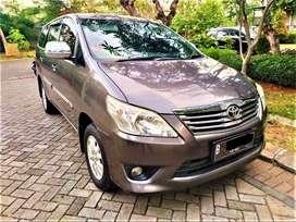 Toyota Kijang Innova E Matic TH 2012 (Grey) Pajak Panjang !!!