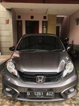 Honda Brio Satya E MT 2018 ISTIMEWA Tangan Pertama Service Rutin