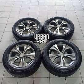 Velg Murah Crv Prestige Ring 18 Pcd 5x114 + Ban 265/60 R18