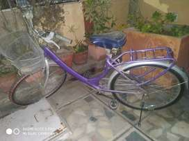 cycle for girls in good condition