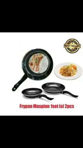 Teflon maspion 2pcs / fry pan non stick / teflon anti lengket