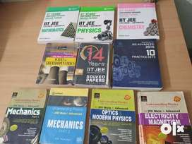 IIT JEE books + Resonance Material