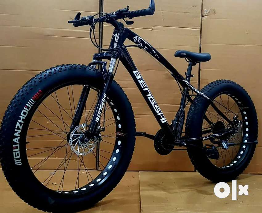 NEW BENGSHI FAT TYRES NON FOLDING CYCLES WITH SHIMANO 21 GEARS