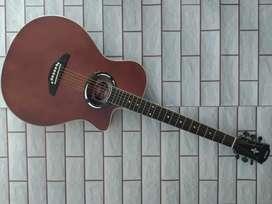Gitar Akustik custom apx yamaha